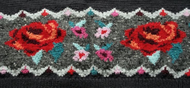 Learn to knit intarsia – 6 to 9 June – West Dean College