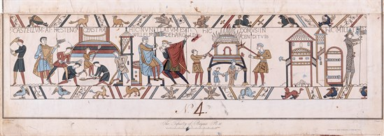 A Copy of the Copy: Leek's Replica of the Bayeux Tapestry – Lecture by Dr Brenda King – 20 September – Society of Antiquaries of London