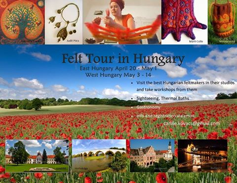 East and West Hungary Felt Tours – 20 April to 14 May 2017