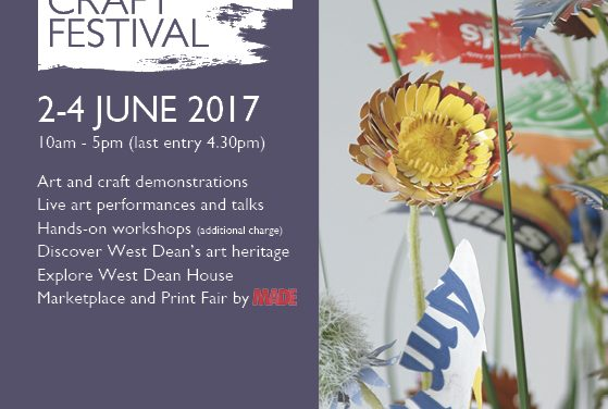 West Dean Arts and Crafts Festival – 2 to 4 June 2017 – West Dean College, West Sussex