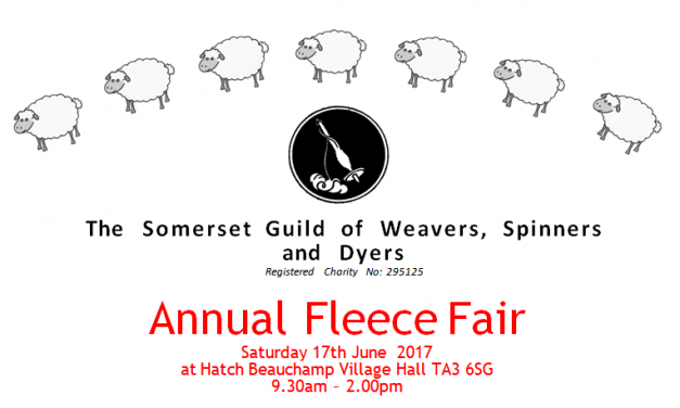 Somerset Guild Fleece Fair – 17 June – Hatch Beauchamp, Somerset