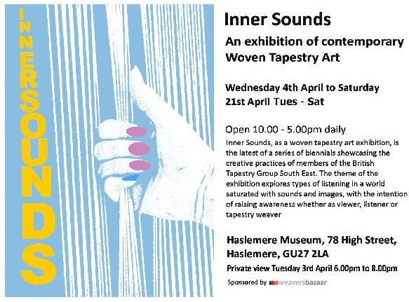 Inner Sounds Exhibition of Contemporary Woven Tapestry Art 4 – 21 April 2018