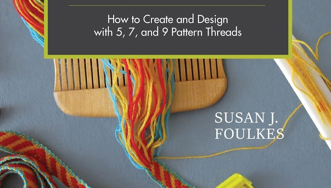 Weaving patterned bands with 5 pattern threads New Book