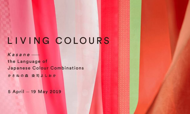 Living Colours: Kasane – the Language of Japanese Colour Combinations 5 April – 19 May 2019 Japan House Kensington