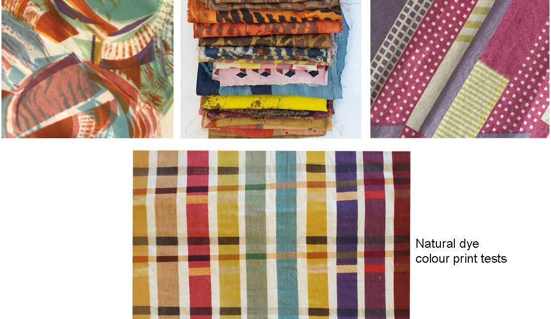 Introduction to Printing with Natural Dyes & Bio-waste Workshops January 10-11 2020