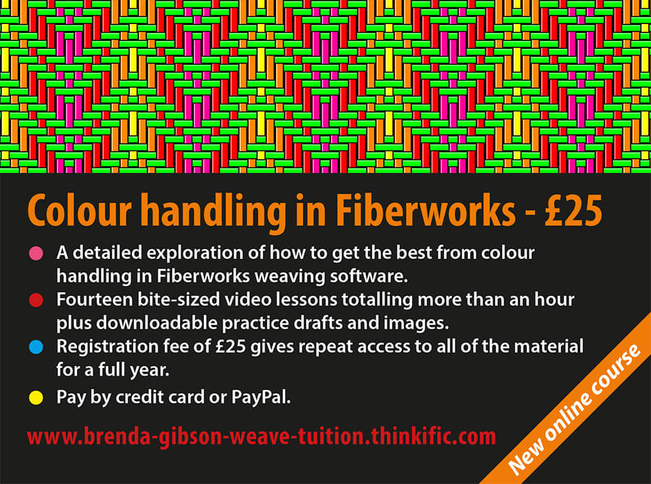Colour handling in Fiberworks